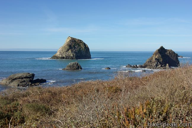 Wait, this rugged beach isn't part of the Oregon Coast? This 2.25-mile hike explores a North Coast gem that strongly resembles the coastline to the north.