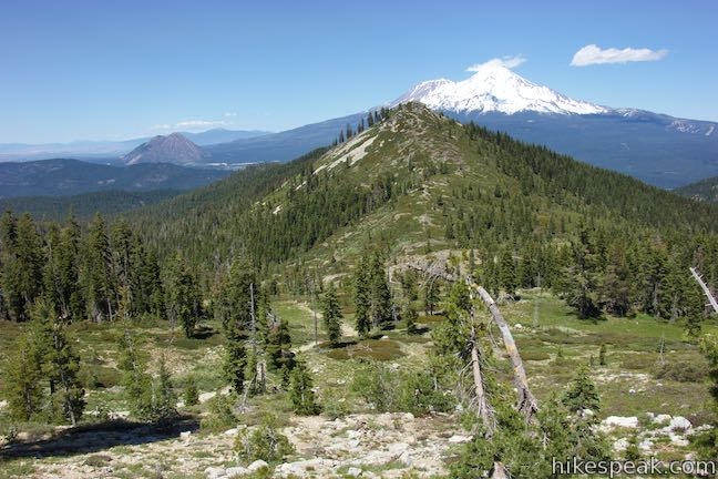 Mount Shasta and Heart Lake Trail