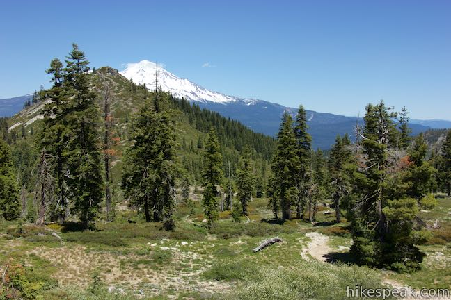 Heart Lake Trail Mount Shasta