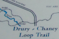 Drury-Chaney Trail Map