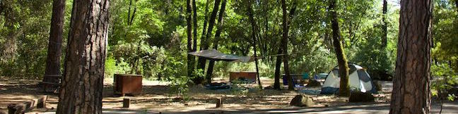 Antlers Campground Shasta-Trinity National Forest Shasta Lake Camping