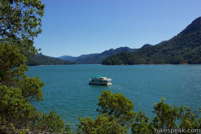 McCloud Arm Shasta Lake