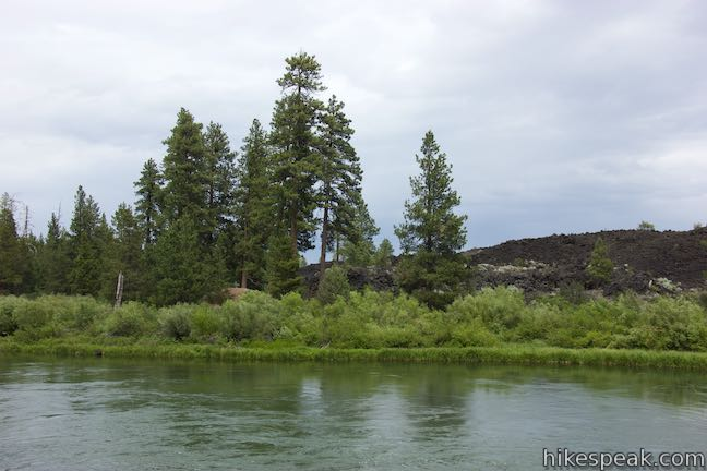 Deschutes River Lava Butte Lava Flow