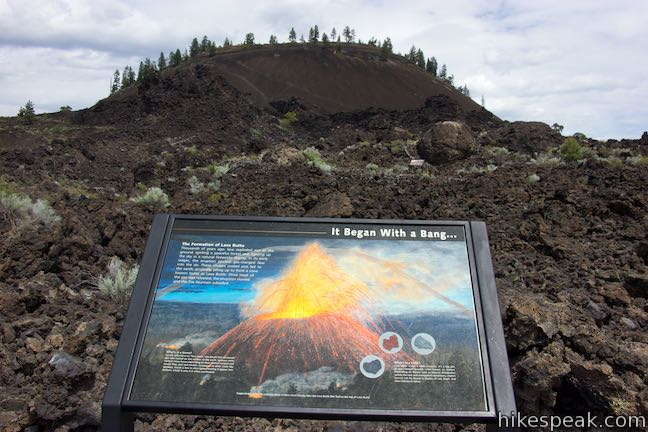 Lava Butte Trail of Molten Land