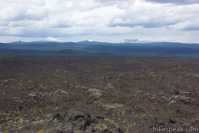Phil Brogan Viewpoint Lava Butte Lava Flow