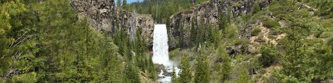 Tumalo Falls Hike Bend Oregon Deschutes National Forest Tumalo Creek North Fork Trail