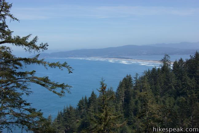 Cape Lookout Trail View Netarts Bay