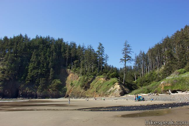 ecola point to indian beach