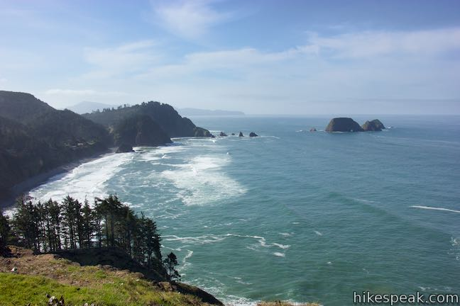 Explore two trails in Cape Meares State Park to see a lighthouse, an unbelievable tree, and lots of ocean views.