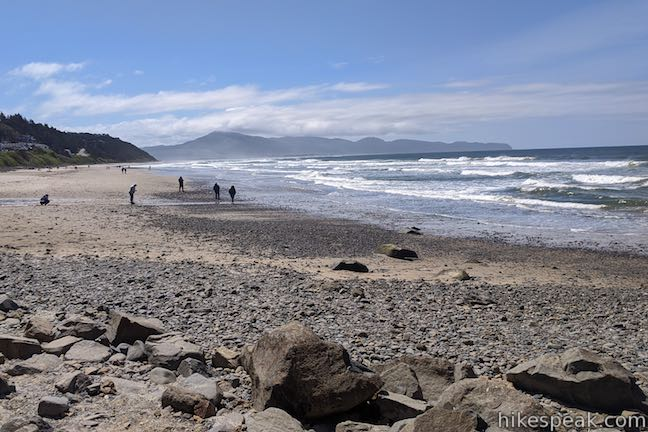 Oceanside Beach Oregon Coast