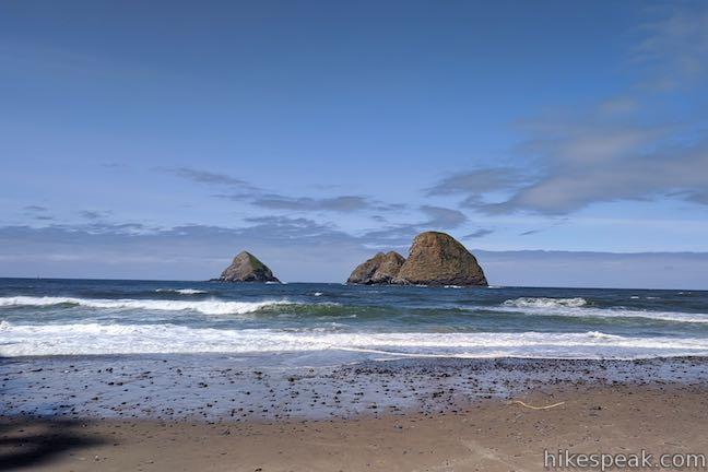 Tunnel Beach Three Arch Rocks Oceanside