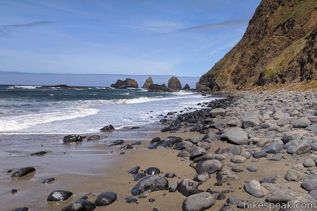 Tunnel Beach Oceanside Oregon
