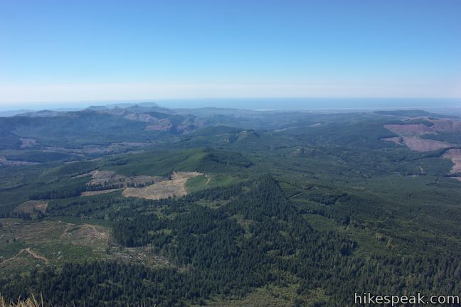 Saddle Mountain Oregon Coast