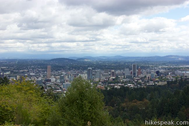 Pittock Mansion Overlook