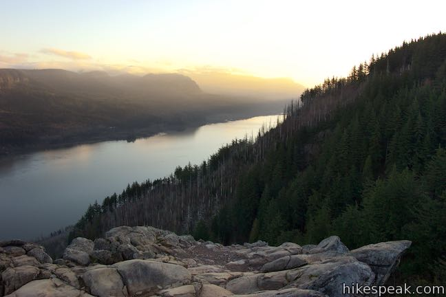 Angel's Rest Sunrise Columbia River Gorge