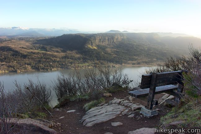 Angel's Rest Lookout Oregon