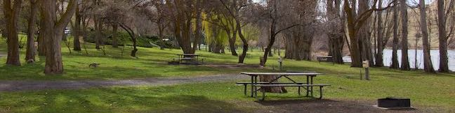 Camping Deschutes River State Recreation Area Campground Columbia River Tent RV camp Oregon