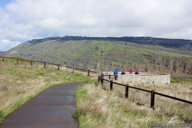 Historic Columbia River Highway State Trail Overlook