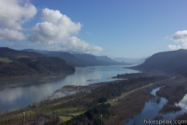 Vista House View Columbia River Gorge