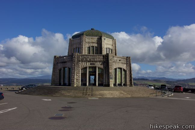 Vista House Crown Point Columbia River Gorge