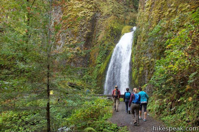 This loop goes beyond Multnomah Falls to visit several other waterfalls and cascades on a beautiful circuit, including the 242-foot Wahkeena Falls.