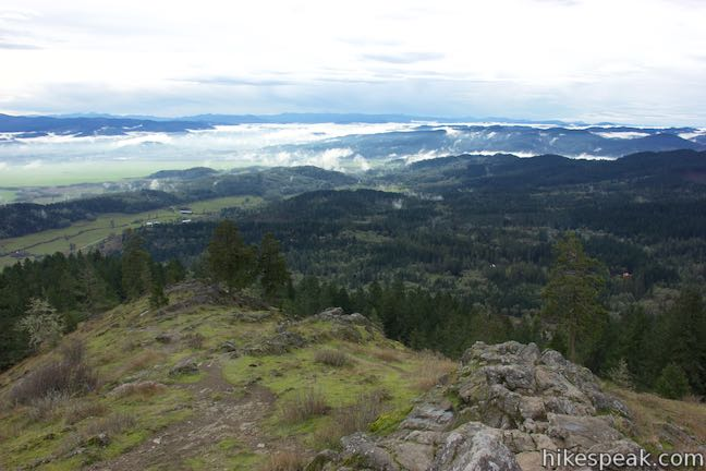Spencer Butte Summit View