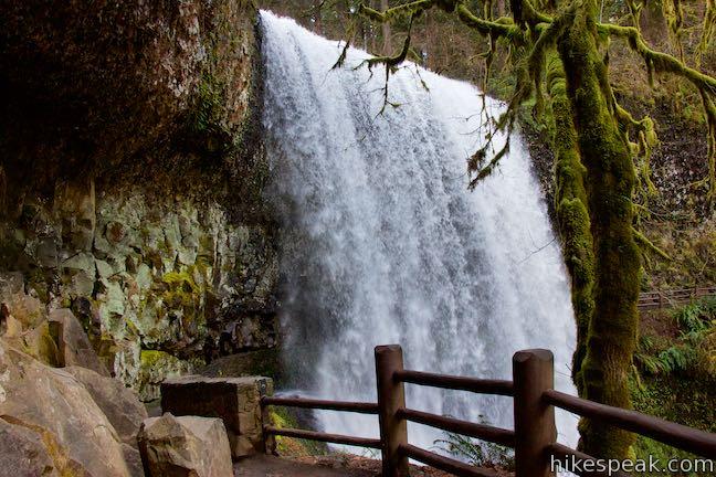 Lower South Falls Canyon Trail