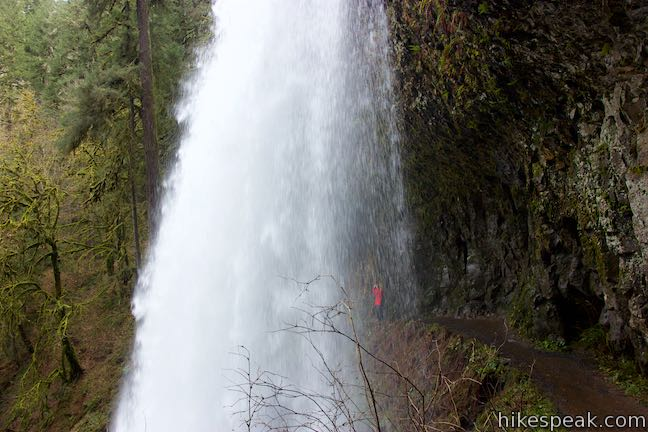 Middle North Falls Silver Falls State Park
