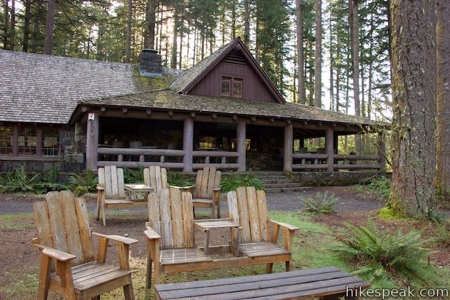 South Falls Lodge Silver Falls State Park