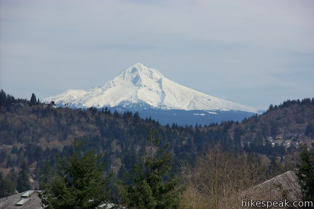 Powell Butte View of Mount Hood