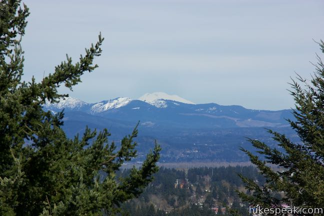 Powell Butte View of Mount Adams
