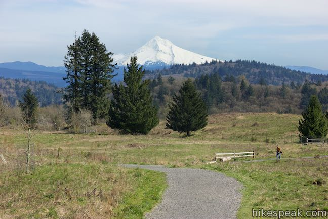 Powell Butte Summit Lane Mount Hood