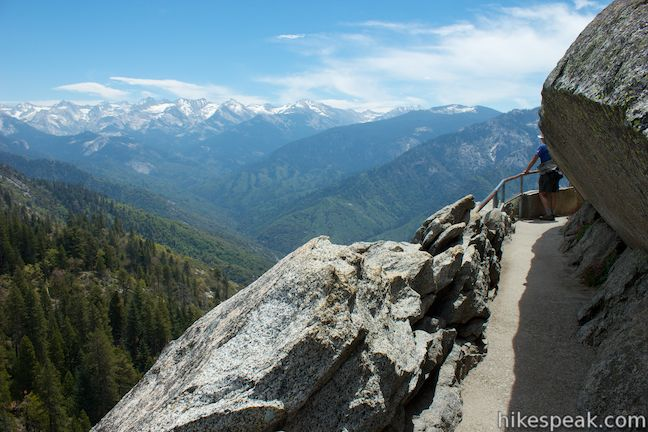Moro Rock Trail Sequoia Hikespeak Com