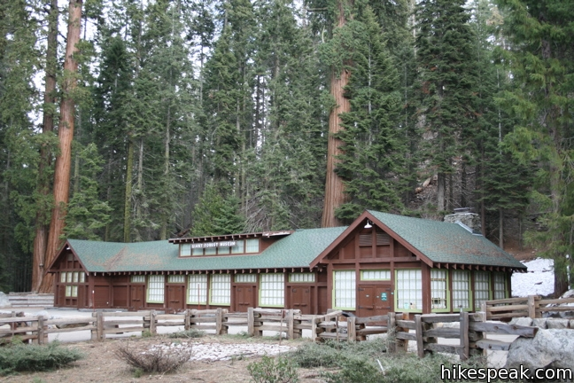 at meadow cabins sequoia park national tharps l trail log california the cabin