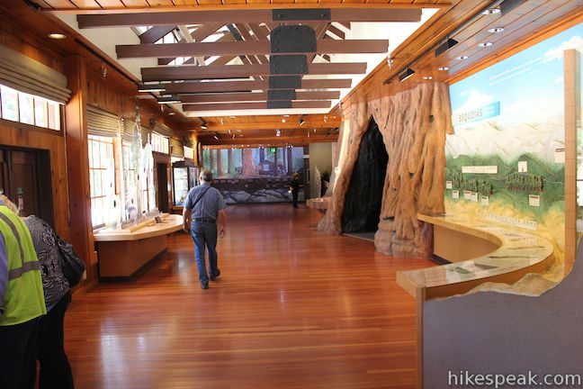 Inside Of A Semi Truck >> Giant Forest Museum | Sequoia | Hikespeak.com