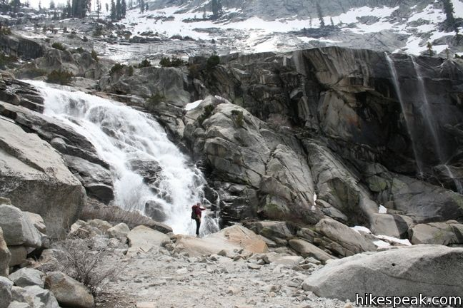 tokopah falls trail sequoia hikespeakcom