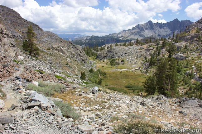 John Muir Trail Ansel Adams Wilderness