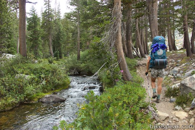 Shadow Creek Trail to Ediza Lake