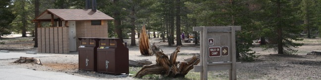 Horseshoe Meadow Campground Cottonwood Golden Trout Wilderness Lone Pine California