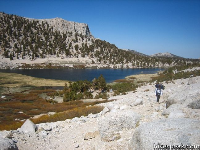 Cottonwood Lakes Trail to New Army Pass in the John Muir Wilderness
