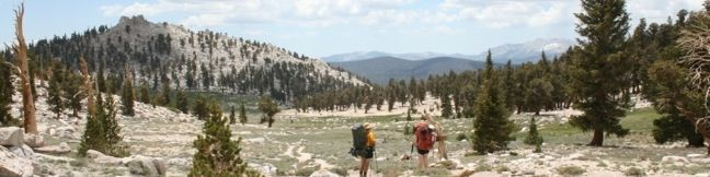 Cottonwood Pass Inyo National Forest Golden Trout Wilderness Sierra Nevada Mountains Hike