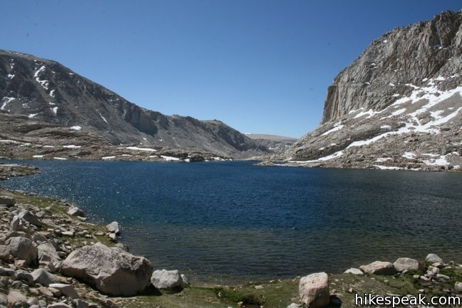 Upper Rock Creek to Sky Blue Lake in Sequoia National Park