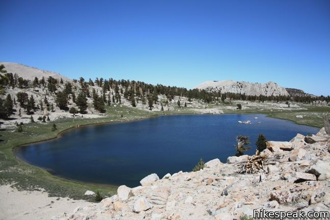 Old Cottonwood Creek Trail to South Fork Lakes in the John Muir Wilderness