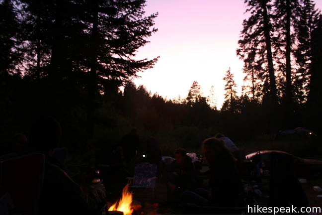 Camping in the Western Divide Ranger District of Sequoia National Forest and Giant Sequoia National Monument