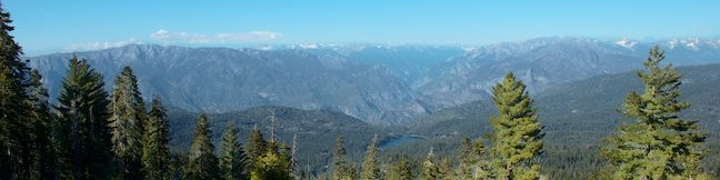 Panoramic Point Trail Kings Canyon National Park scenic view overlook hike