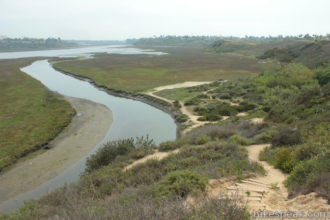 Upper Newport Bay Nature Preserve hiking trails