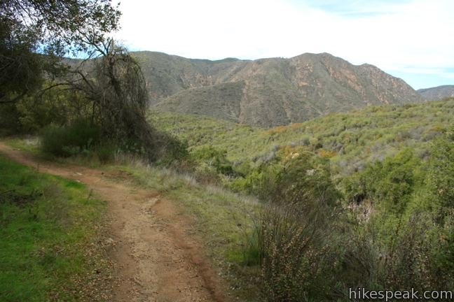 Fisherman's Camp Trail San Mateo Canyon Wilderness