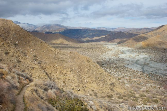 Pacific Crest Trail Whitewater Canyon