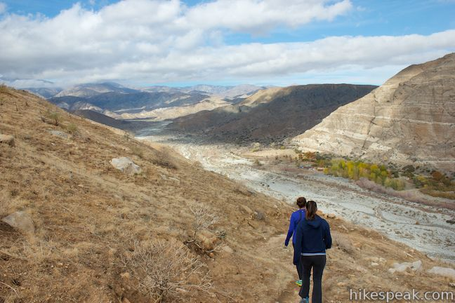 Whitewater Canyon View Loop Trail