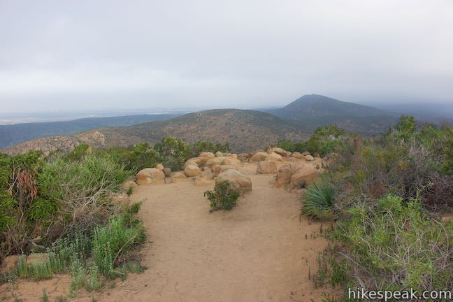 Kwaay Paay Peak Trail in Mission Trails Regional Park